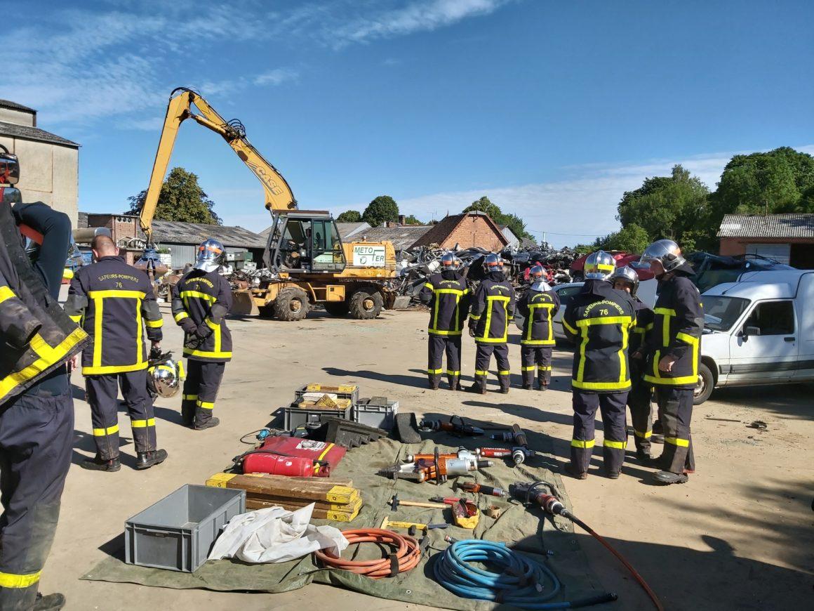 Formation des pompiers de Foucarmont